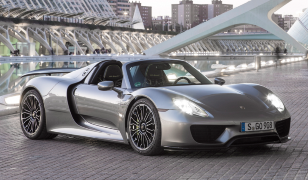 Top 15 Most Expensive Porsche in the World | #14. Porsche 918 Spyder ($1.2 million)