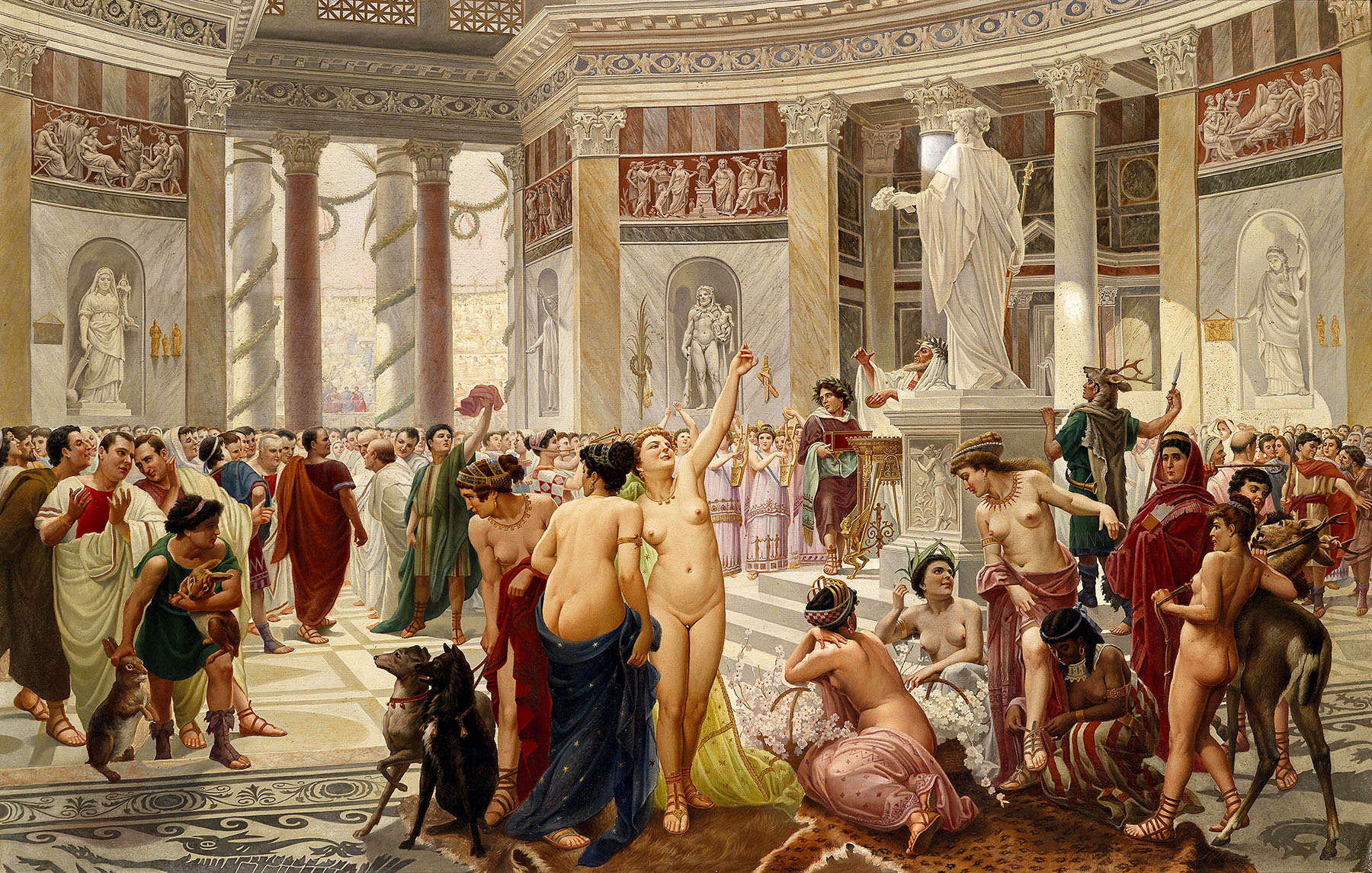 Luxury in ancient Rome
