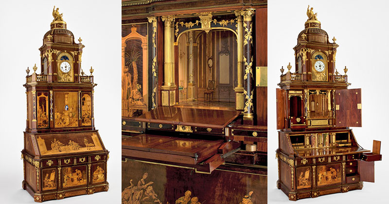 Roentgen furniture - Berlin Secretary Cabinet