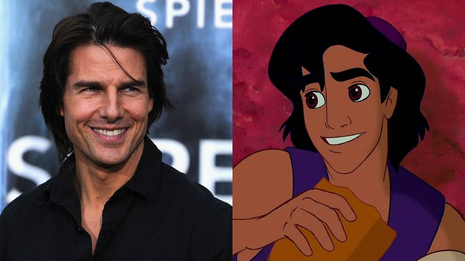 What Makes Tom Cruise Irresistible? | The likeness of Aladdin is based on Tom Cruise