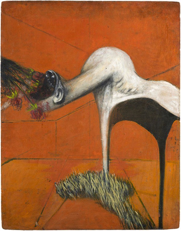 Francis Bacon Exhibit - Three Studies for Figures at the Base of a Crucifixion