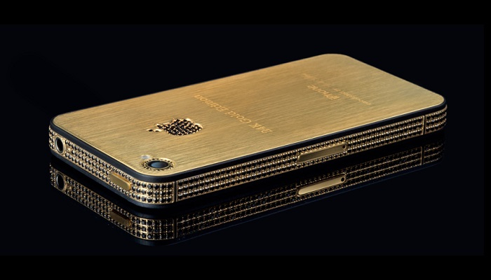 15 Most Expensive Apple Products ever Sold!   #3. iPhone 4S Elite Gold ($9.4 million)