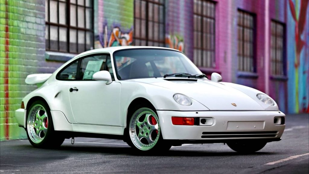 Top 15 Most Expensive Porsche in the World | #15. Porsche 964 Turbo Flachbau ($1 million)
