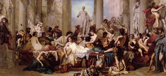 Luxury in ancient Rome - Saturnalia