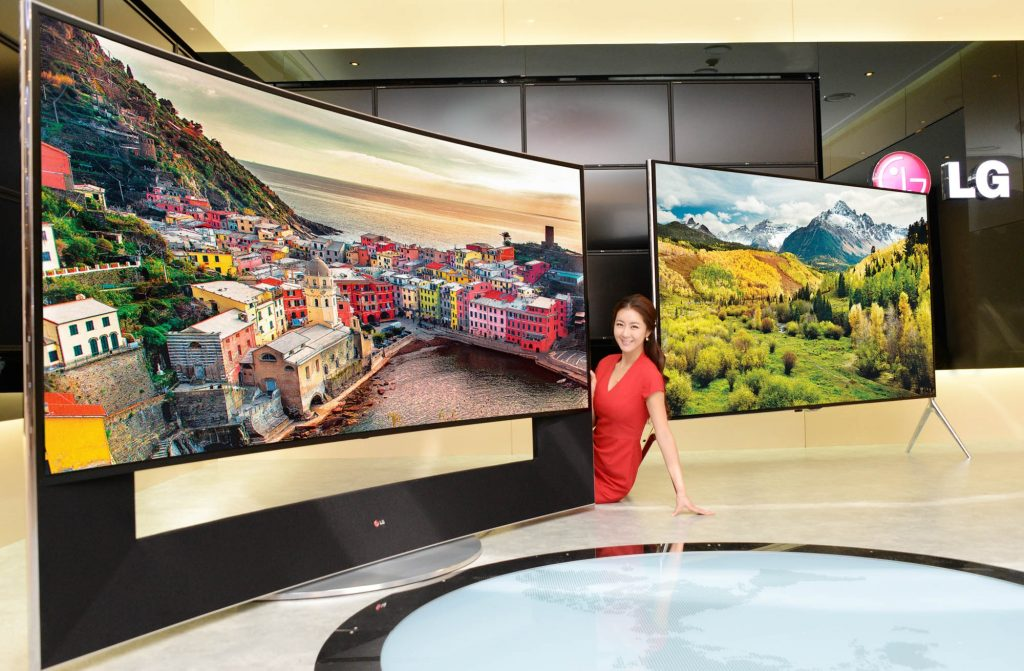 Here are 15 Most Expensive TVs in the World   #15. LG 105UC9 ($100,000)