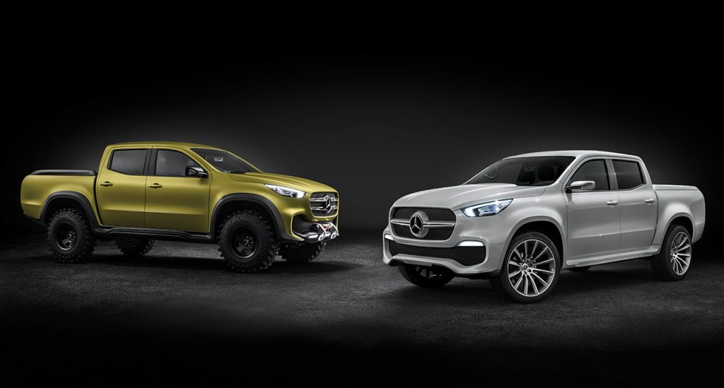 15 Facts about the New Mercedes-Benz X-Class | #14. Only Concept for Now
