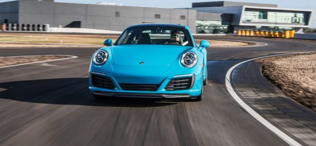 Enjoy Your Meal among Cars in Porsche Playground in Los Angeles