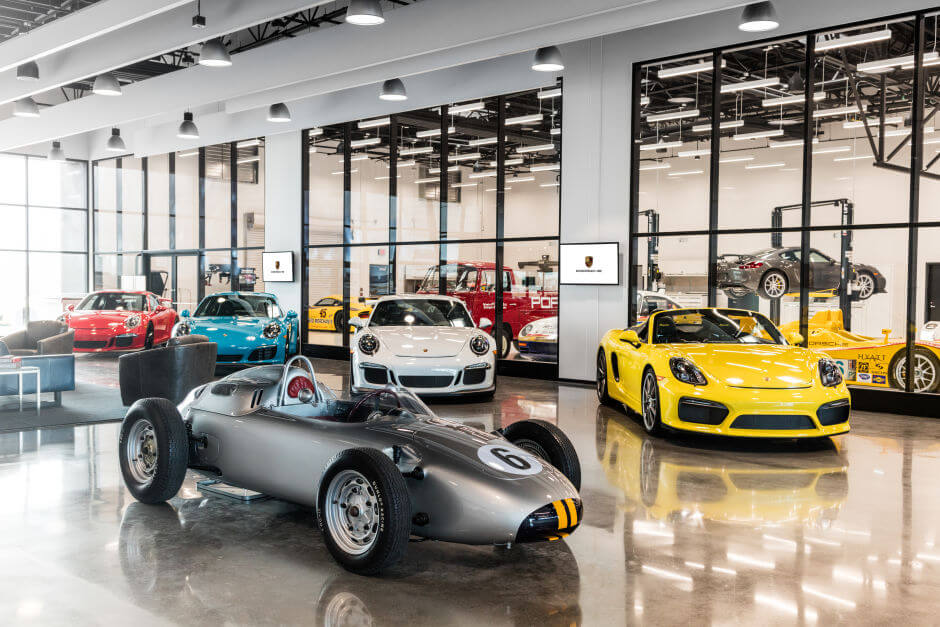 Disneyland for Grown-ups: 20 Pictures of Porsche Playground in Los Angeles