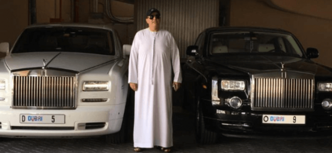 Guy Spends $9 Million on a Car Plate for his Rolls-Royce