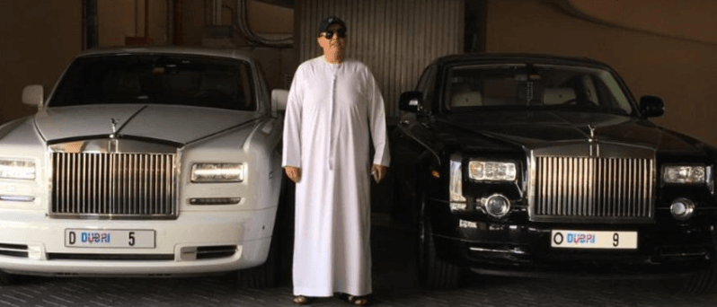 Dubai-Based Guy Spent $9 Million on a License Plate for his Rolls Royce