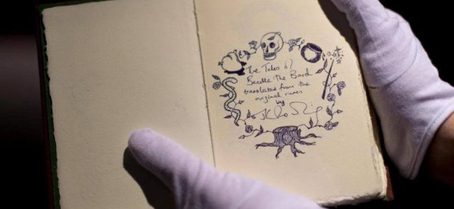 JK Rowling's Beedle the Bard Manuscript Goes Up for Auction
