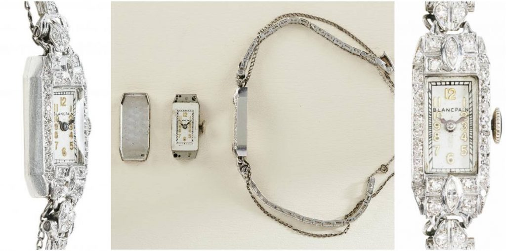 Marilyn Monroe's Blancpain Cocktail Watch Goes Up for Auction