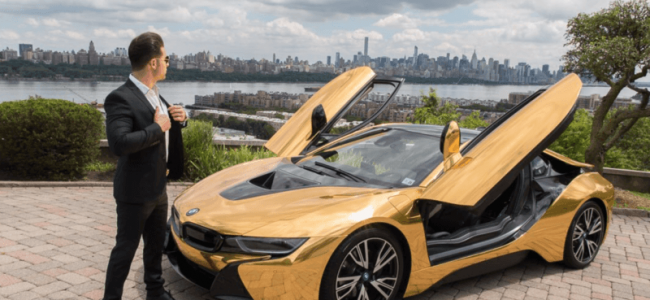 "YouTube ""Star"" Gets his BMW i8 Smashed by a New Yorker, but Was It Staged?"