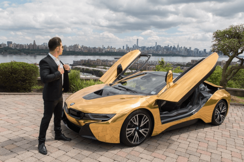 Must See The Video Of Youtube Star Getting His Bmw I8 Car Smashed