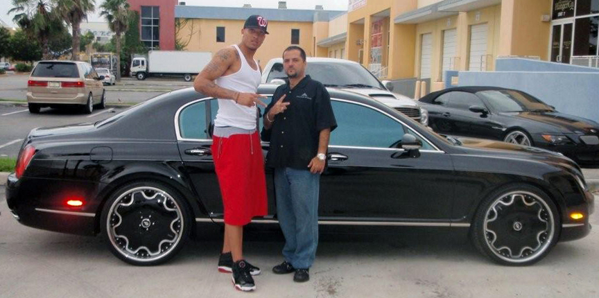 Top 15 Most Expensive NBA Players' Cars | #13. Michael Beasley's Bentley Continental Flying Spur ($200,000)