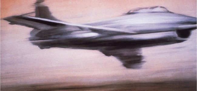 Gerhard Richter's Jet Fighter