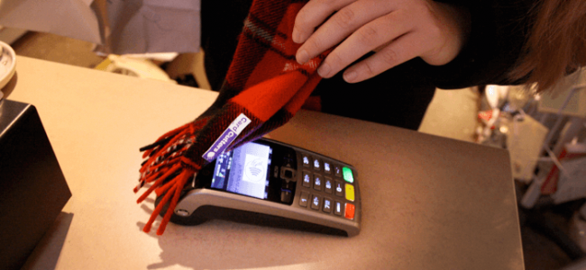 Card Cutters' Contactless Scarf Will Help you Shop Smarter