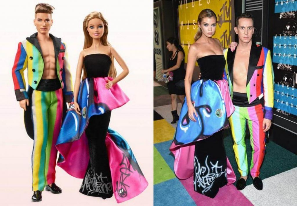 1bcd88bb24685 Check out the Most Expensive Barbie Doll Set Ever  Moschino s Barbie ...