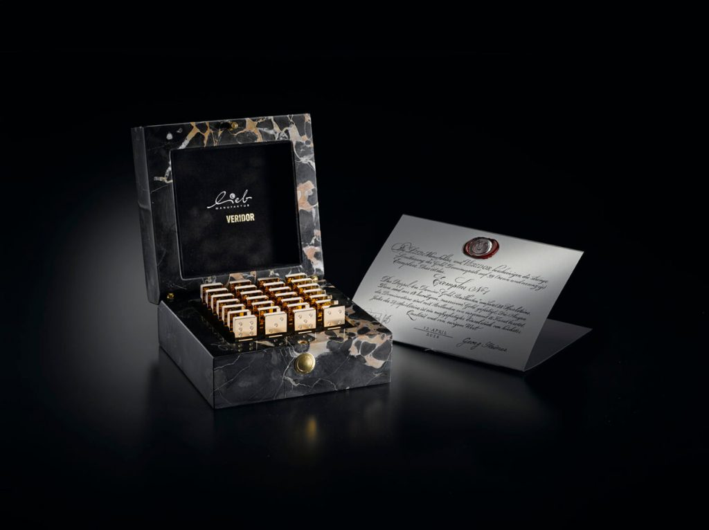Meet the Most Expensive Domino Set Made of Gold and Diamonds