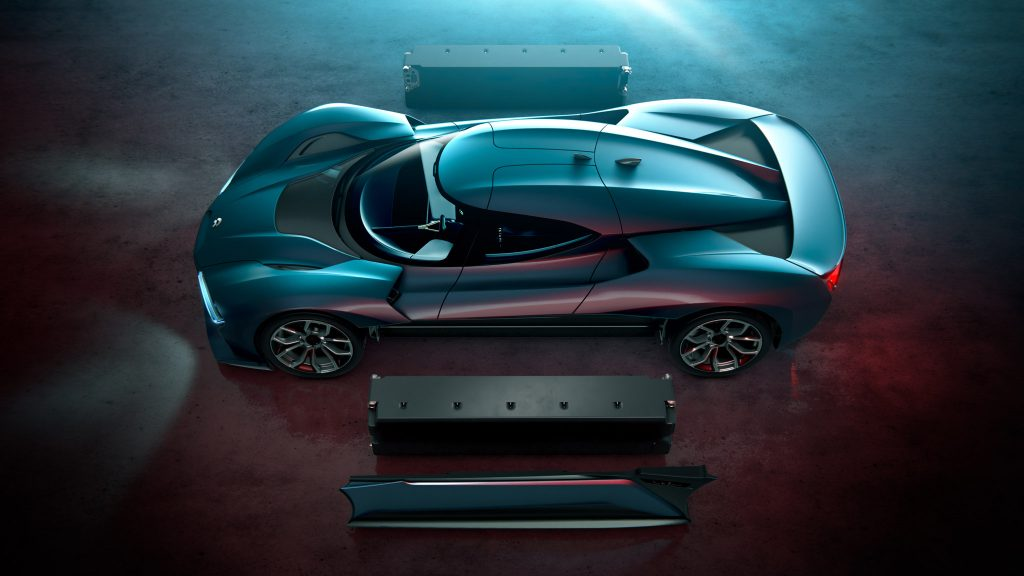 Meet NIO EP9 Electric Car: 15 Facts You Should Know | #14. Powered by a 777-V full electric powertrain.