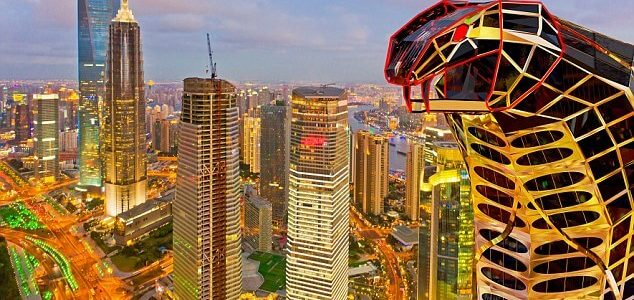 This Cobra-Shaped Building Is the Perfect Supervillan Hideout