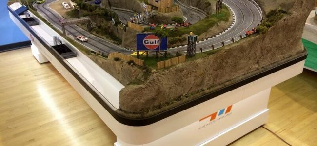 This $50k Model Race Track is made by Slot Mods and Looks Great!