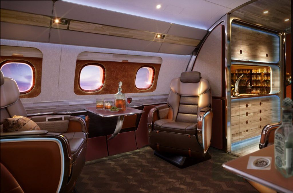 The $75 Million Skyranch One is the Perfect Private Business Jet