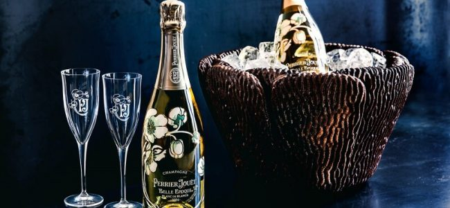 This $5,000 Perrier-Jouët Marc Metamorphosis Ice Bucket Is Made From Grape Skin