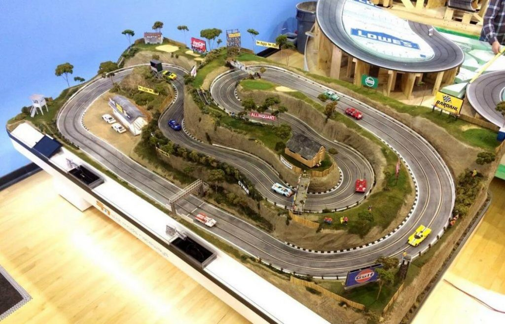 This Awesome $50k Model Race Track is the Most Accurate Replica!