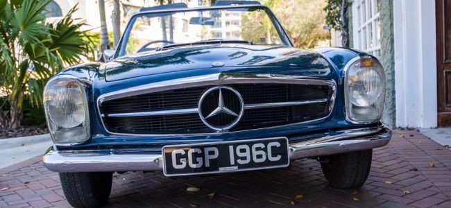 John Lennon's 1965 Mercedes-Benz 230L is Looking for a Brand New Owner