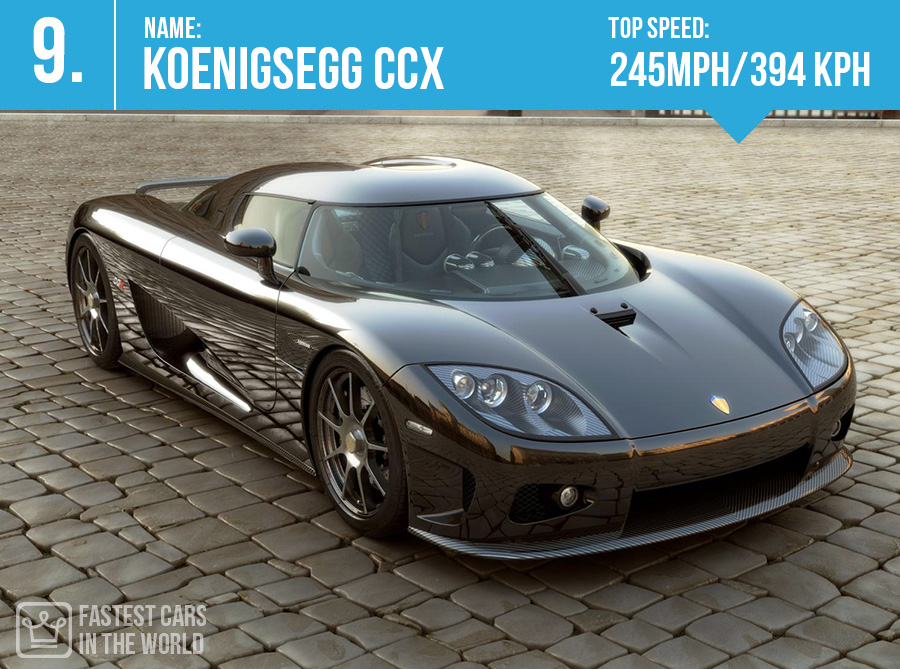 fastest cars in the world Koenigsegg CCX top speed alux