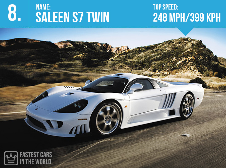 fastest cars in the world Saleen S7 Twin top speed alux