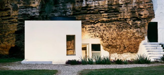 This House was built into the Side of a Mountain and we Can't Even