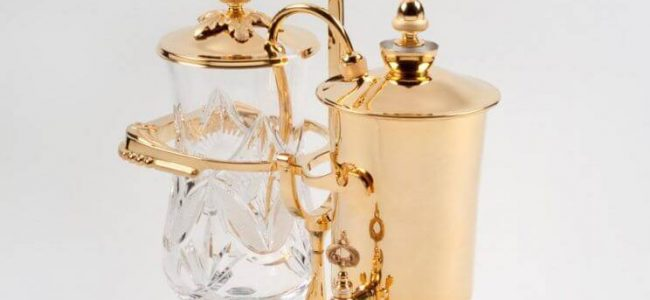 Is this Gold-Plated Royal Coffee Maker Worth $18,500 (11)