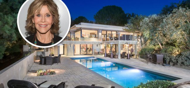 Jane Fonda's Beverly Hills Mansion is up for Grabs and You Can Be the New Owner!