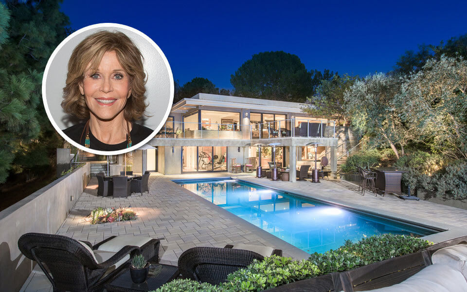 Jane Fonda's Beverly Hills Mansion is Up for Sale! See How Much She Wants for it!