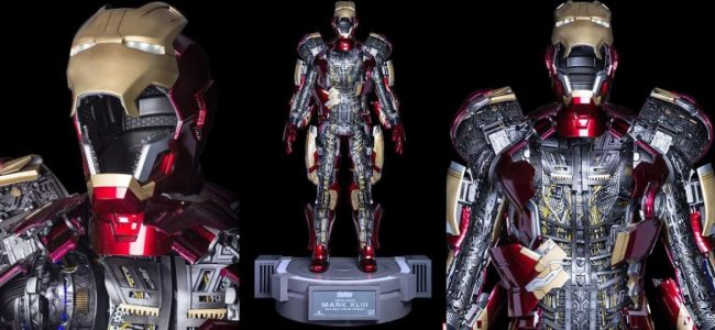 This Life-Sized Iron Man Armor by Toy Asia Costs $36,000
