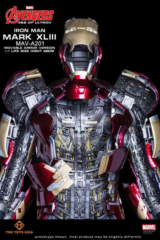 Priced at $36,000 This Toy Asia Iron Man Armor is a Toy for the Big Boys