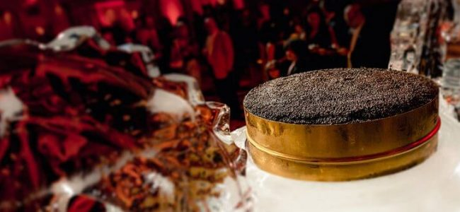 The Largest Tin of Caviar in the World was Made by Burj Al Arab & AmStur Caviar