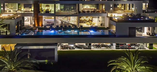 This $250 Million Luxury Home in LA Includes Seven Workers and A Helicopter