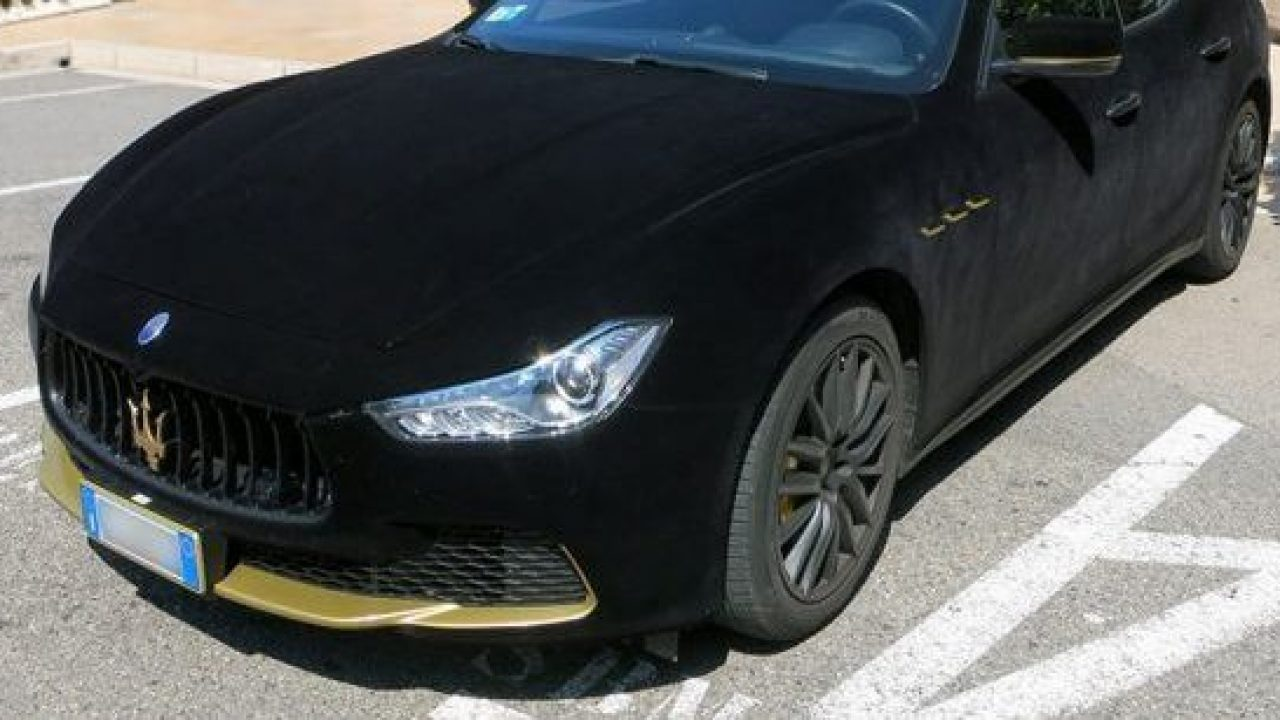 This Black Velvet Wrapped Maserati Is The Ride Fit For A King Alux Com