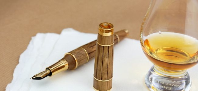 This Montegrappa Gautier Cognac Pen is filled with 275-Year-Old Cognac! Find out How Much it costs! (3)