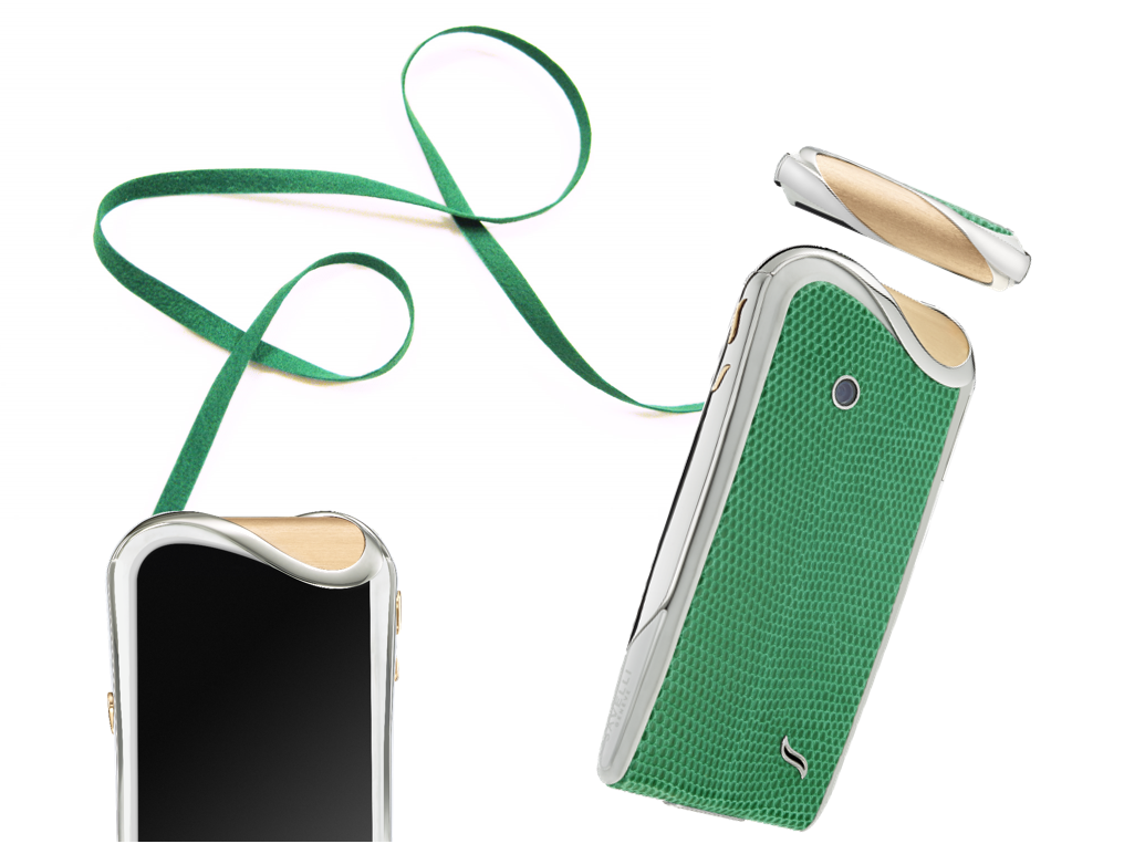 15 Most Expensive Android Phones in the World | #15. Savelli Emerald Iguana ($16,000)