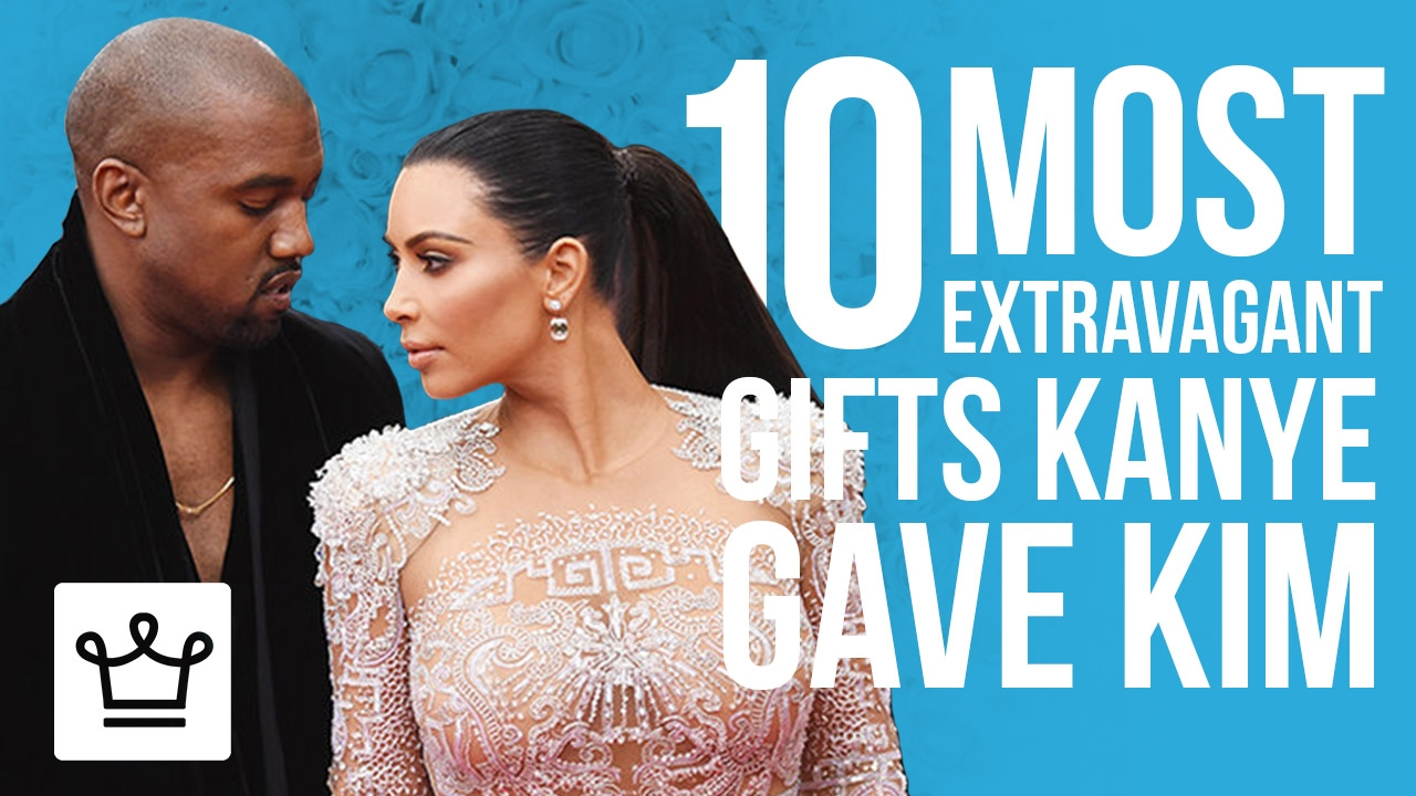 10 Of the Most Extravagant Gifts Kanye Gave Kim