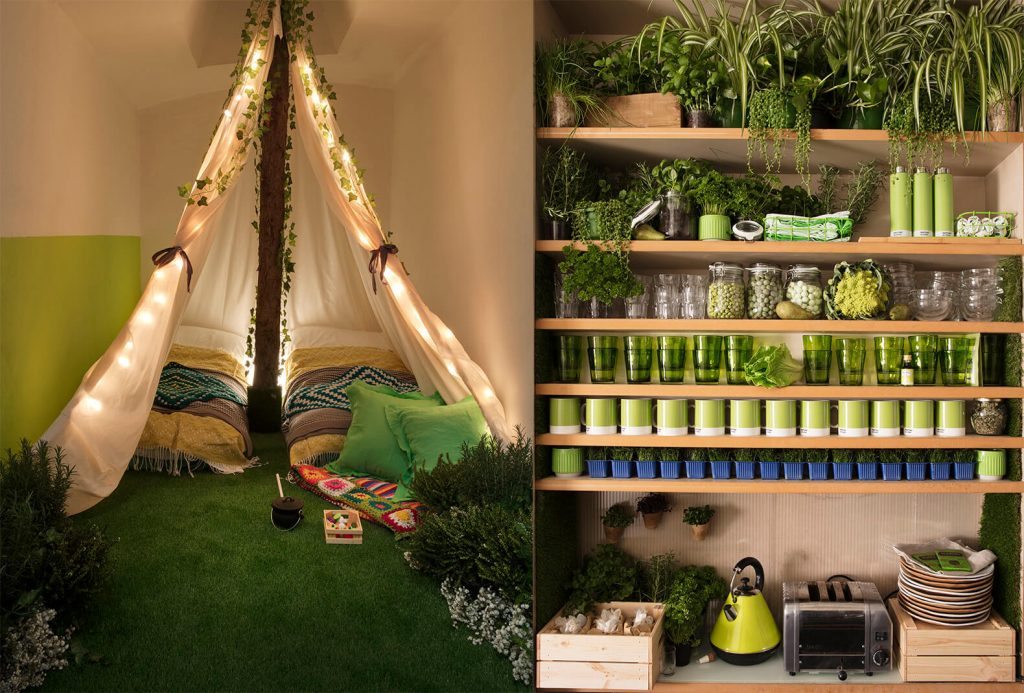 Airbnb Teamed up With Pantone to Create an All-Green Retreat in London!
