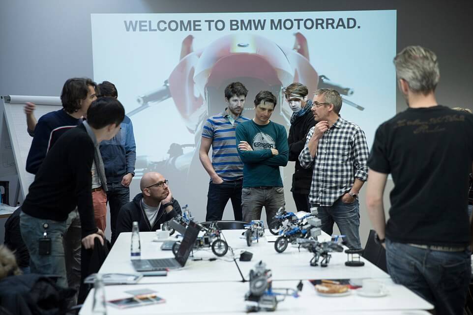 BMW Teams Up With LEGO to Create a Futuristic Flying Motorcycle Inspired by Lego