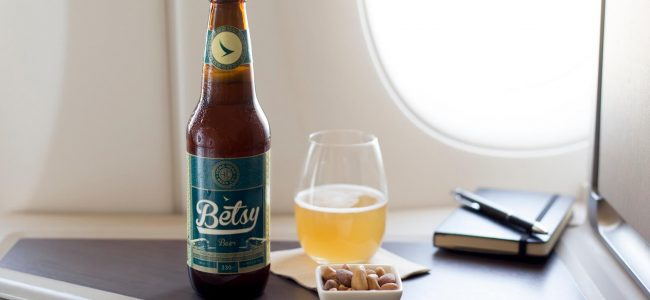 Cathay Pacific's Betsy Beer is Special Brewed for Drinking at 35,000 Feet (1)