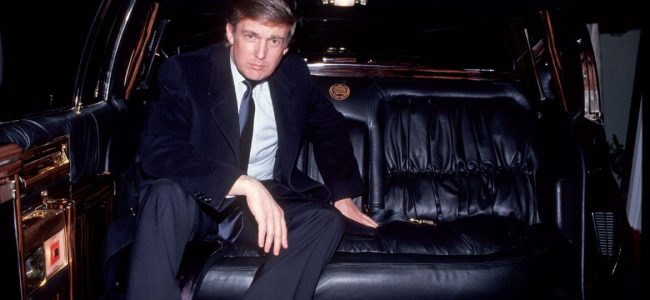 Donald Trump's Old Custom Cadillac Limo is On the Market