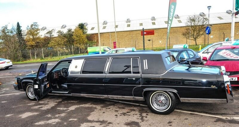 Donald Trump's Old Custom Cadillac Limo is On the Market for $62,000