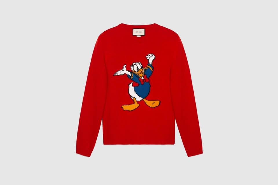 89e36620b Full Donald Duck Collection by Gucci Is Here and We are in Awe!